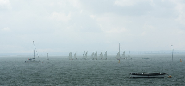 squally start for race 1